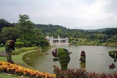 Landschap 3 van de tuin Royalty-vrije Stock Foto