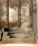 Landschap 43 van de fantasie royalty-vrije illustratie