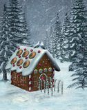 Landschap 5 van de winter Royalty-vrije Stock Afbeeldingen
