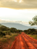 Landschap Afrika Royalty-vrije Stock Afbeeldingen