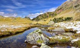 Landschap in Aigues Tortes, Spanje Stock Afbeeldingen