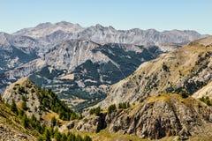 Landschap in Alpen Stock Foto's
