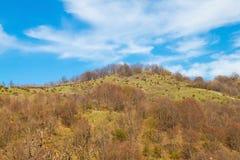 Landschap in Appennino stock afbeelding
