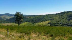 Landschap in Ardeche, Frankrijk Stock Foto's