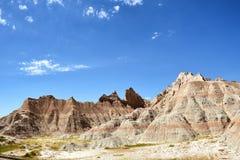 Landschap Badlands NP royalty-vrije stock afbeelding