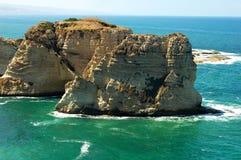 Landschap in Beiroet Libanon Stock Foto's