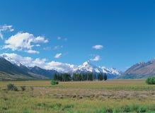 Landschap bij Aard royalty-vrije stock foto