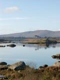 Landschap bij een meer in Ierland Stock Foto's