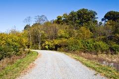 Landschap bij het Arboretum van Virginia Royalty-vrije Stock Fotografie