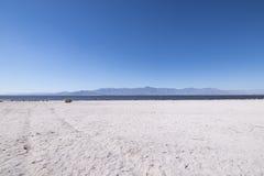 Landschap bij het Salton-Overzees Stock Foto