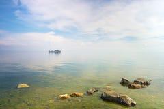 Landschap bij Meer Baikal Stock Afbeeldingen