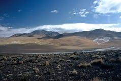 Landschap in Bolivië, Bolivië Stock Foto's