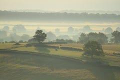 Landschap in Bourgondië Stock Afbeelding
