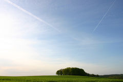 Landschap in Bretagne Stock Afbeeldingen