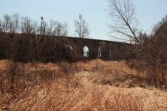 Landschap, brug Royalty-vrije Stock Foto's