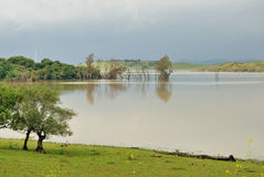 Landschap in Cadiz Royalty-vrije Stock Foto