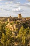 Landschap Calatanazor, Soria, Spanje Royalty-vrije Stock Afbeeldingen