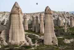 Landschap in Cappadocia, Turkije Royalty-vrije Stock Fotografie