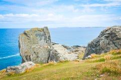 Landschap in Cornwall, Engeland royalty-vrije stock afbeelding