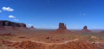 Landschap dat van het Monument is ontsproten stock foto's