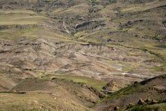 Landschap in David Gareja Royalty-vrije Stock Fotografie