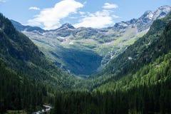 Landschap in de Alpen royalty-vrije stock fotografie