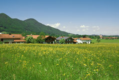 Landschap in de Beierse Alpen Royalty-vrije Stock Afbeelding