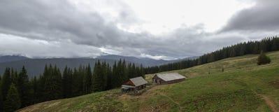 Landschap in de Karpatische Bergen Royalty-vrije Stock Fotografie