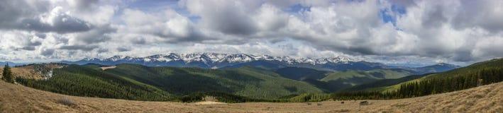 Landschap in de Karpatische Bergen Stock Afbeelding