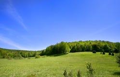 Landschap in de lentetijd Stock Afbeelding