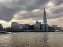 Landschap in de stad van Londen stock afbeelding