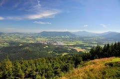 Landschap in de zomer Royalty-vrije Stock Foto