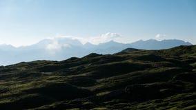 Landschap in de Zwitserse alpen Stock Afbeelding