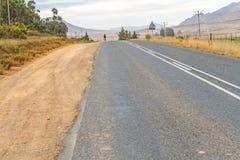 Landschap dichtbij de matrijs Berg van Dorp op in Zuid-Afrika Royalty-vrije Stock Fotografie