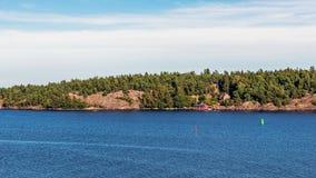Landschap dichtbij Nynashamn Royalty-vrije Stock Afbeeldingen