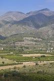 Landschap dichtbij Orba, Spanje Royalty-vrije Stock Foto's