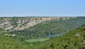 Landschap dichtbij Roski-Tik Stock Foto