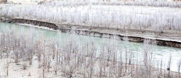 Landschap die de droogte van de planeet tonen Royalty-vrije Stock Afbeelding