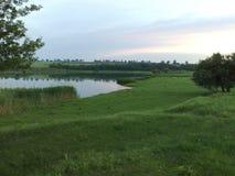 Landschap en water Royalty-vrije Stock Afbeelding