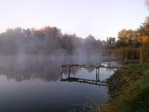 Landschap en water Royalty-vrije Stock Foto's