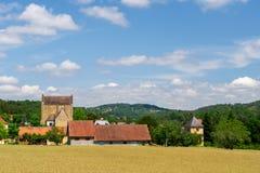 Landschap in Franse Dordogne Royalty-vrije Stock Afbeeldingen