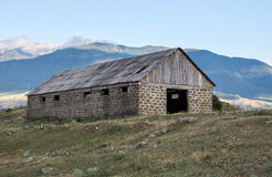 Landschap in Georgië Royalty-vrije Stock Afbeelding