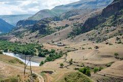 Landschap in Georgië Royalty-vrije Stock Fotografie
