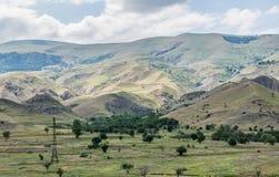 Landschap in Georgië Stock Afbeelding