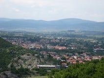 Landschap, Gezichtspunt, Kuuroordstad, Sokobanja, Servië royalty-vrije stock fotografie