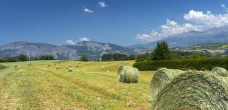 Landschap in Haute Provence Stock Foto's