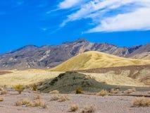 Landschap in het Nationale Park van de Vallei van de Dood Stock Afbeeldingen