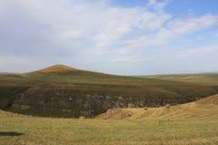 Landschap het Noord- van de Kaukasus Stock Afbeeldingen