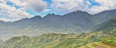 Landschap het Noord- van Vietnam Royalty-vrije Stock Afbeelding