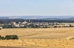 Landschap in het Perche-Gebied van Frankrijk Stock Foto's